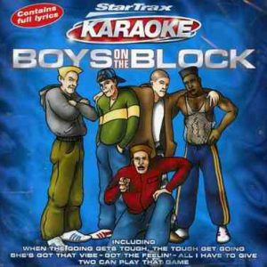 Boys on the Block - Karaoke - Front